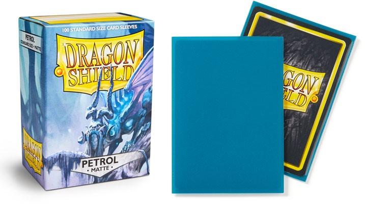 a779c0f37a0 Dragon Shields  Matte Petrol Sleeves (100) - Atomic Empire