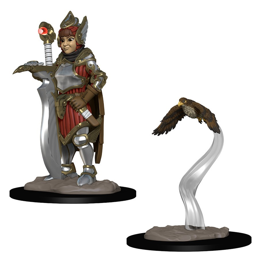 Browse Fantasy Miniatures Atomic Empire Ninja Division Painting Cerci Speed Circuit Wizkids Wardlings Girl Fighter And Hunting Falcon By