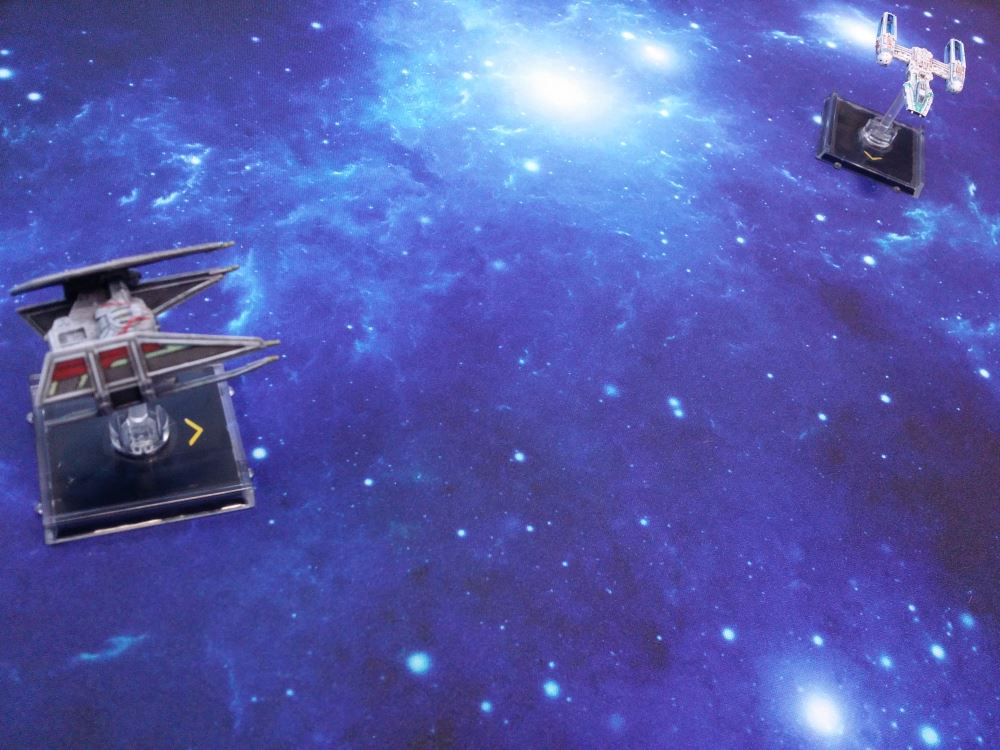 War Game Mat: Blue Space - 36 x 36 - Atomic Empire