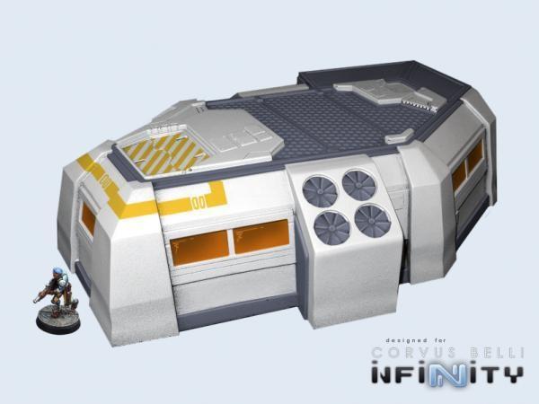 28mm Sci-Fi Terrain: Habitat Station (1) - Atomic Empire