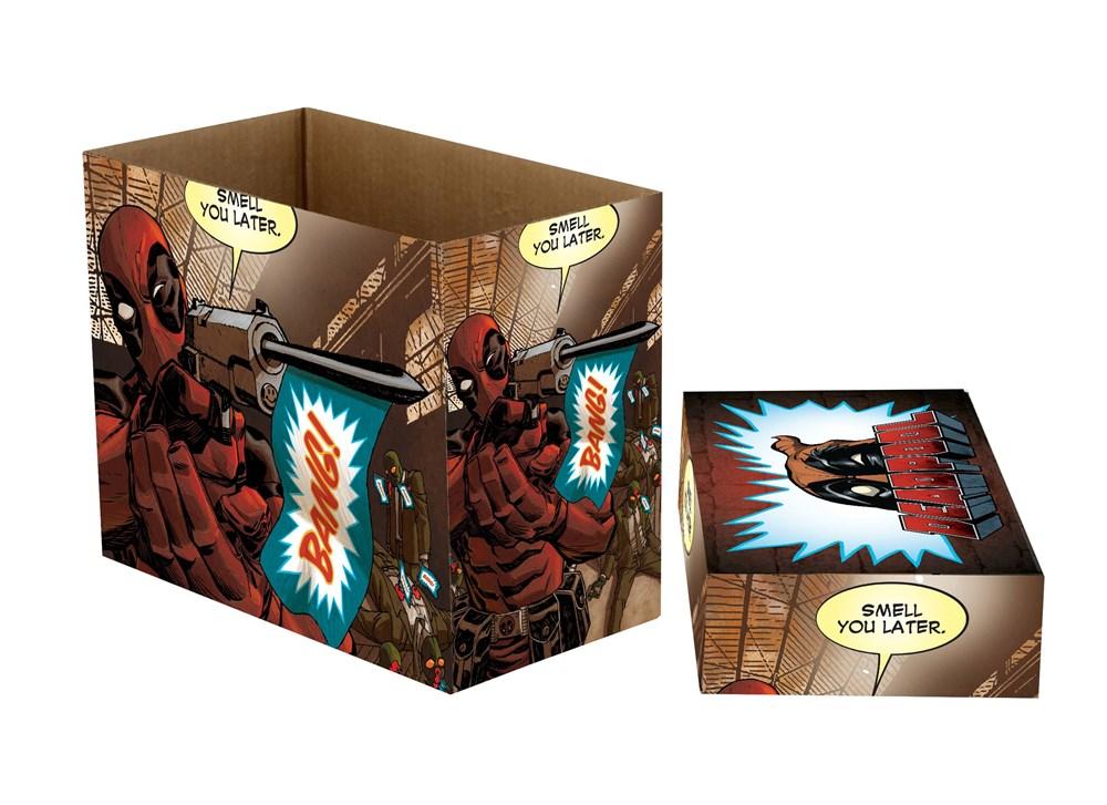 Marvel Comics Short Comic Book Storage Box Deadpool Bang  sc 1 st  Atomic Empire & Marvel Comics Short Comic Book Storage Box: Deadpool Bang - Atomic ...