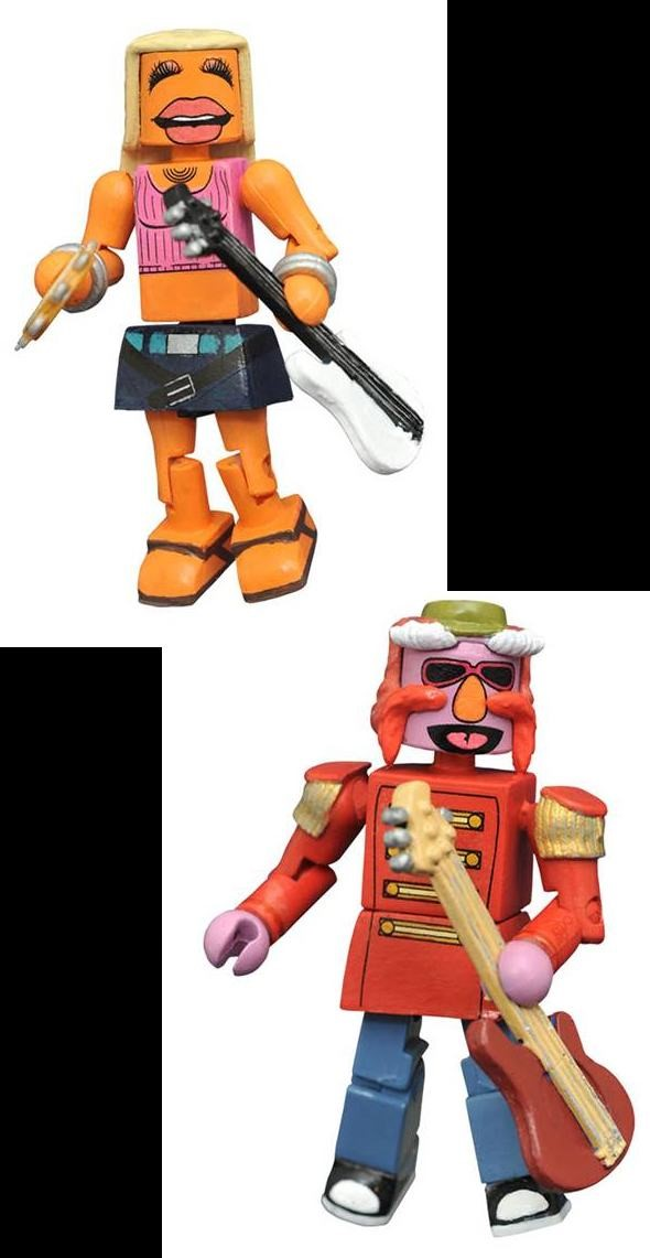 Muppets Minimates Series 3: Floyd Pepper and Janice - Atomic Empire