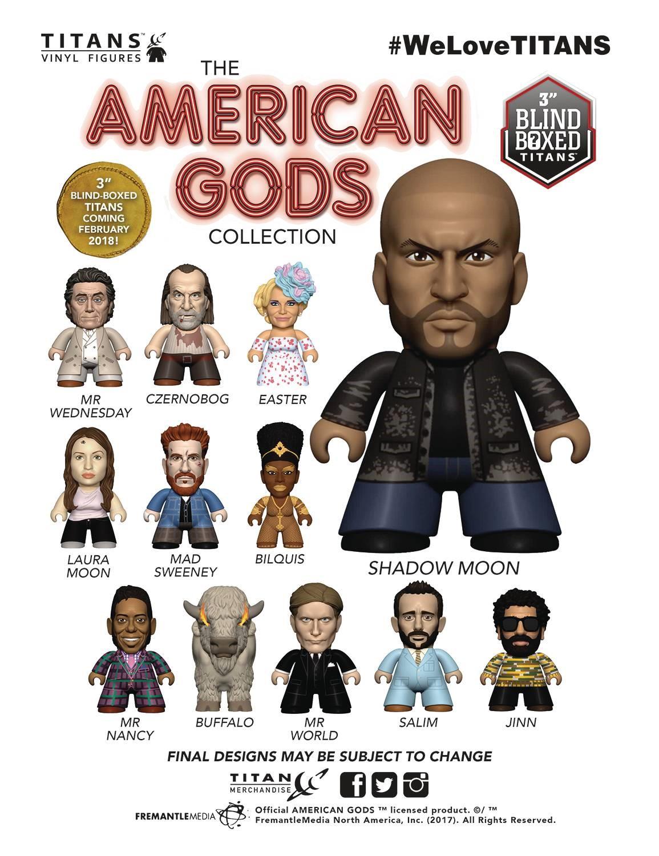 American Gods The Collection Titans Vinyl Figure Blind Box