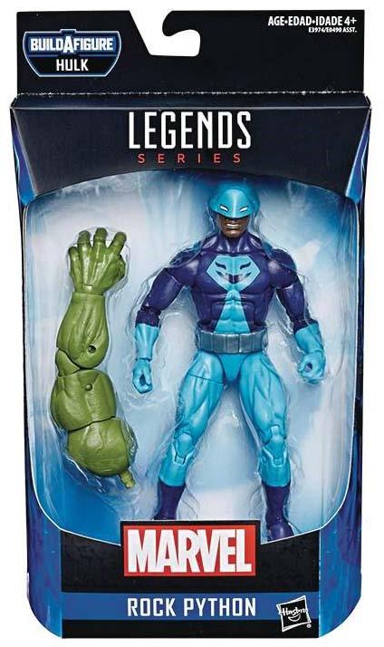 Marvel Avengers Legends Series 6-Inch Rock Python Action Figure