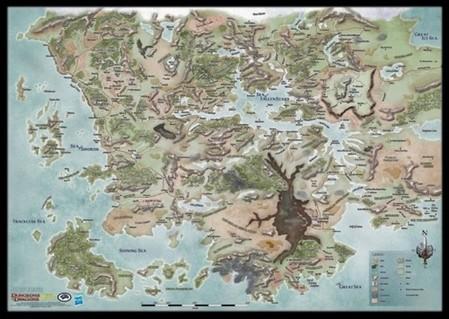 D&D: Forgotten Realms World Map   Atomic Empire