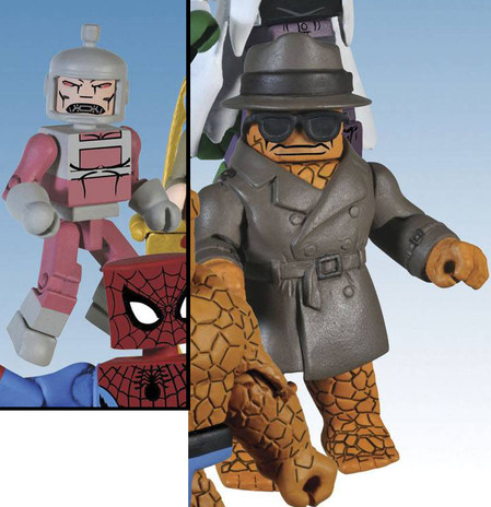 Marvel Minimates Series 37 Trenchcoat Thing Variant