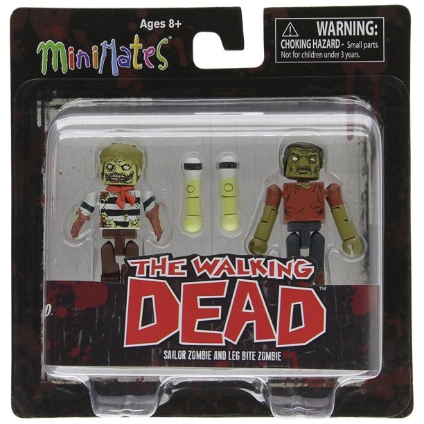 Walking Dead Minimates Series 2 Leg Bite Zombie