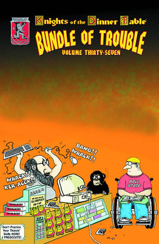 knights of the dinner table bundle of trouble pdf